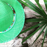 Palma Green Fedora Hat Panama Hat Collection