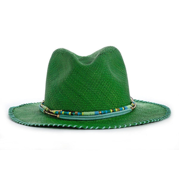 Palma Green Fedora Hat