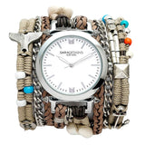 Playa Beige Wrap Watch Sara Designs