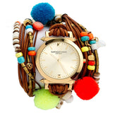 Pom Pom Pow Wrap Watch Sara Designs
