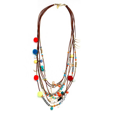 ZOE TASSLE NECKLACE