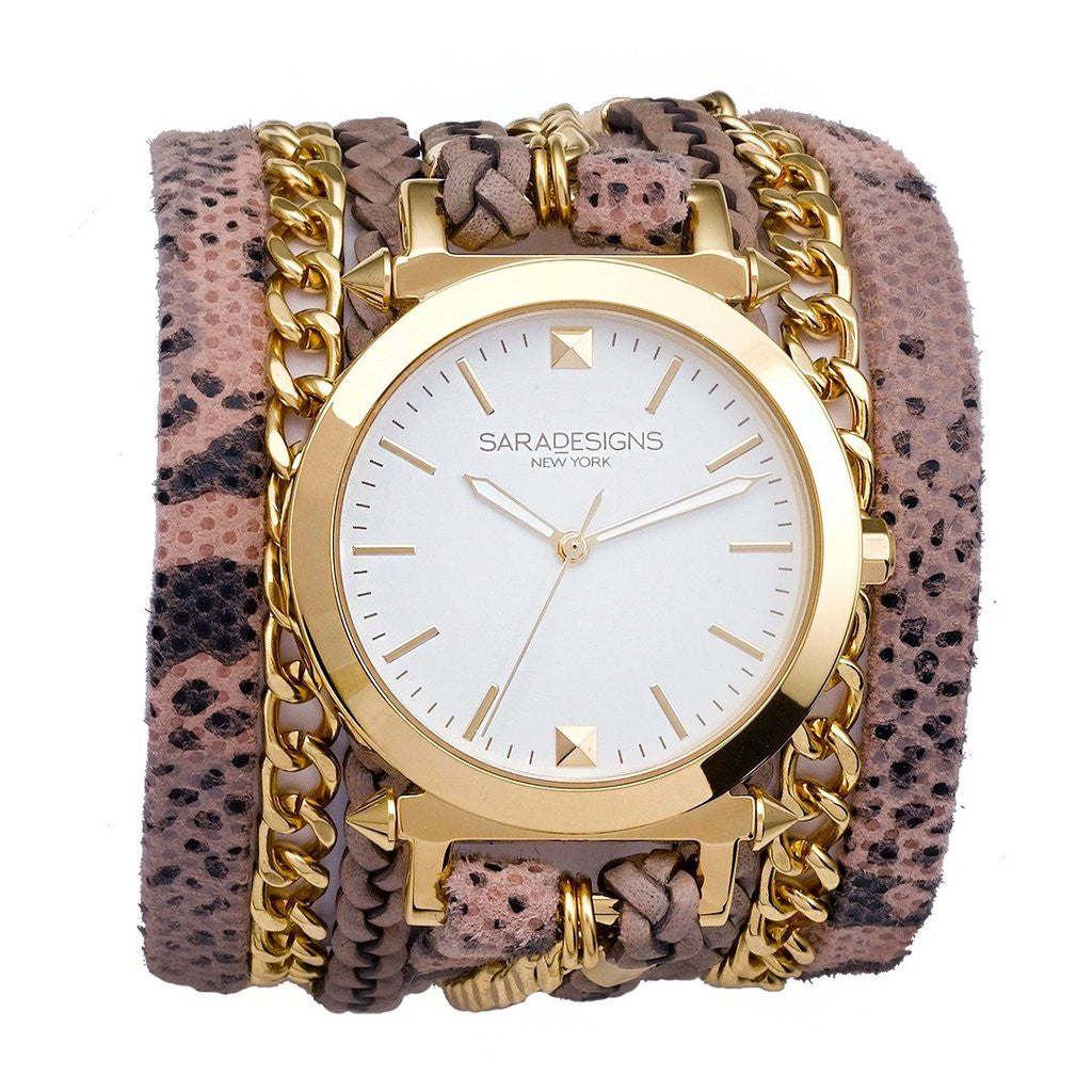Rosie Urban Spike Wrap Watch Sara Designs