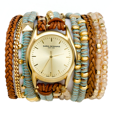 ARMY MACRAME WRAP WATCH