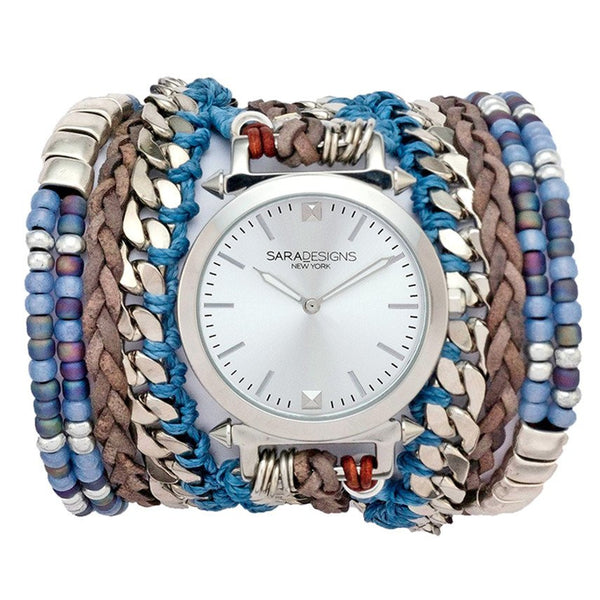 Sky Maasai Wrap Watch Sara Designs