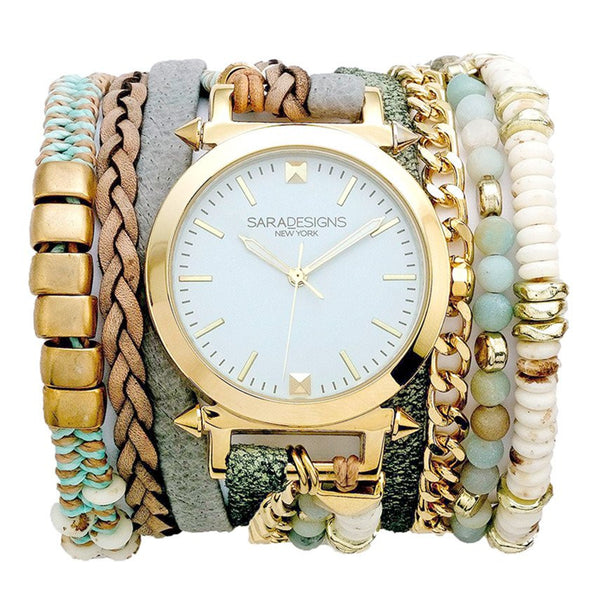 St. Tropez Wrap Watch Sara Designs