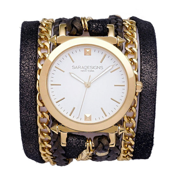 Star Urban Spike Wrap Watch Sara Designs
