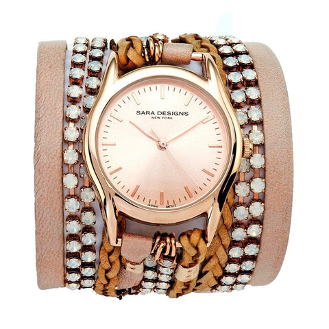 ALL CHAIN SILVER WRAP WATCH