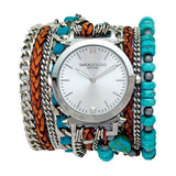 Turquoise Wrap Watch Sara Designs