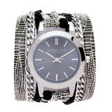 Urban Round Python Wrap Watch Sara Designs