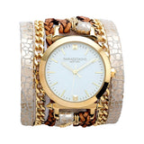Urban Spike Artic Wrap Watch White