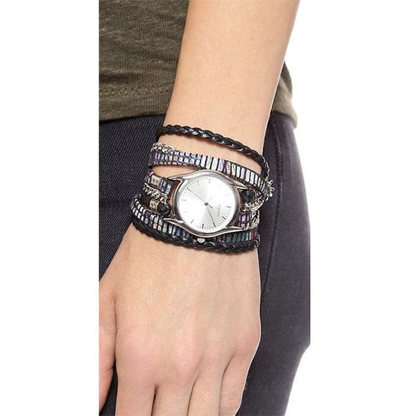 Urban Spike Candy Wrap Watch Handmade Leather Sara Designs