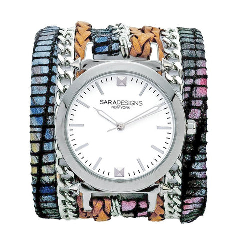 SPLASH URBAN SPIKE WRAP WATCH