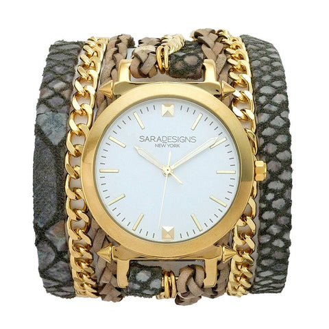 Lil Crystal Wrap Watch
