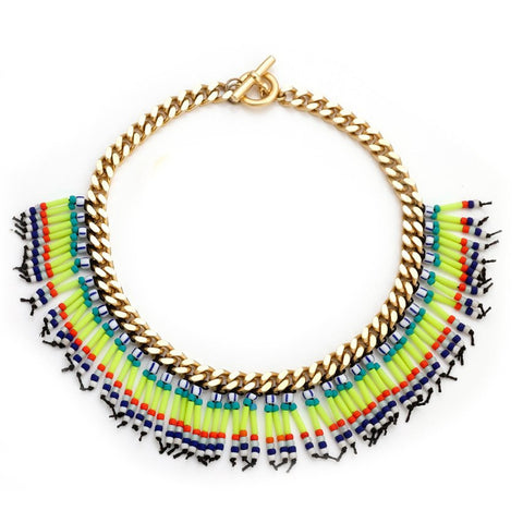 KAYA NECKLACE - WHITE