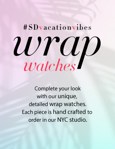 Wrap Watches Sara Designs