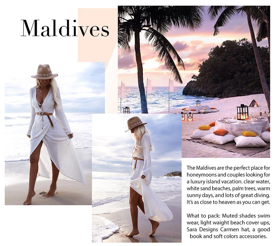 Maldives - Sara Designs