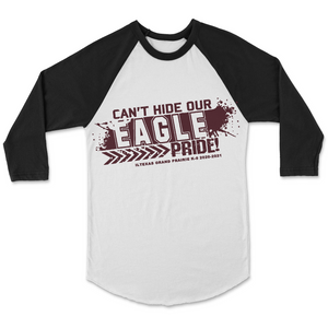 Can't Hide Our Eagle Pride Raglan Spirit Shirt - Faculty Members