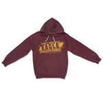 Load image into Gallery viewer, Can't Hide Our Eagle Pride Maroon Hoodie Sweatshirt