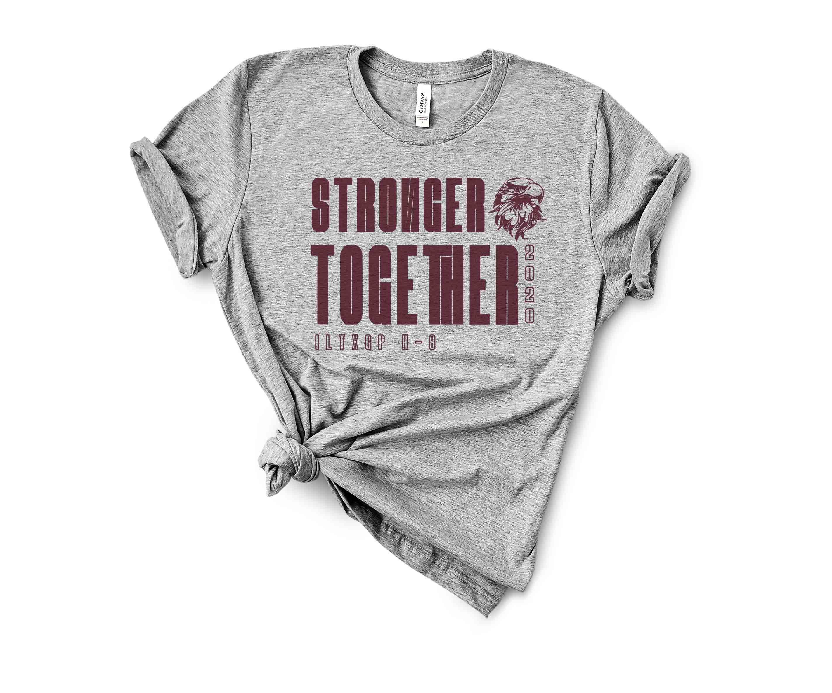 Stronger Together Heather Grey Spirit Shirt