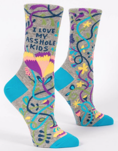 Socks I Love My Asshole Kids Womens 5-10