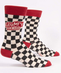 Socks Grumpy Old Man  Mens 7-12