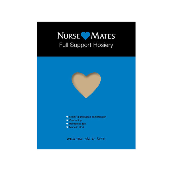 Nurse Mates | 6 mmHg Full Support Hosiery Nearly Nude
