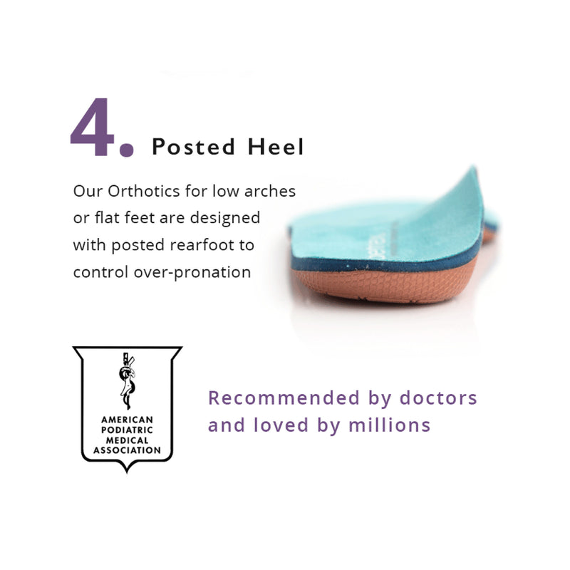 Aetrex | Women's Memory Foam Orthotics L2205W (Medium/High Arch) with Metatarsal Support
