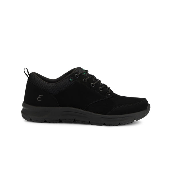 Emerils Footwear | Mens Quarter Nubuck Black