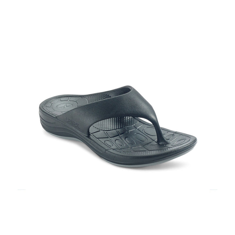 Aetrex | Women's Maui Orthotic Flips Black