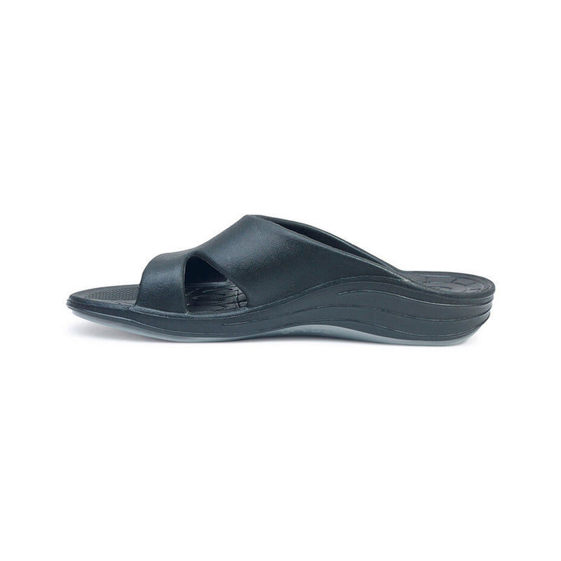 Aetrex | Women's Bali Orthotic Slides Black