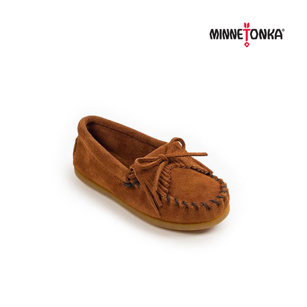 Minnetonka Moccasin | Kilty 咖啡色小童豆豆鞋