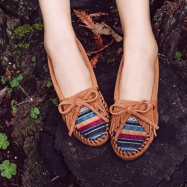 Minnetonka Moccasin | Kilty Arizona Fabric