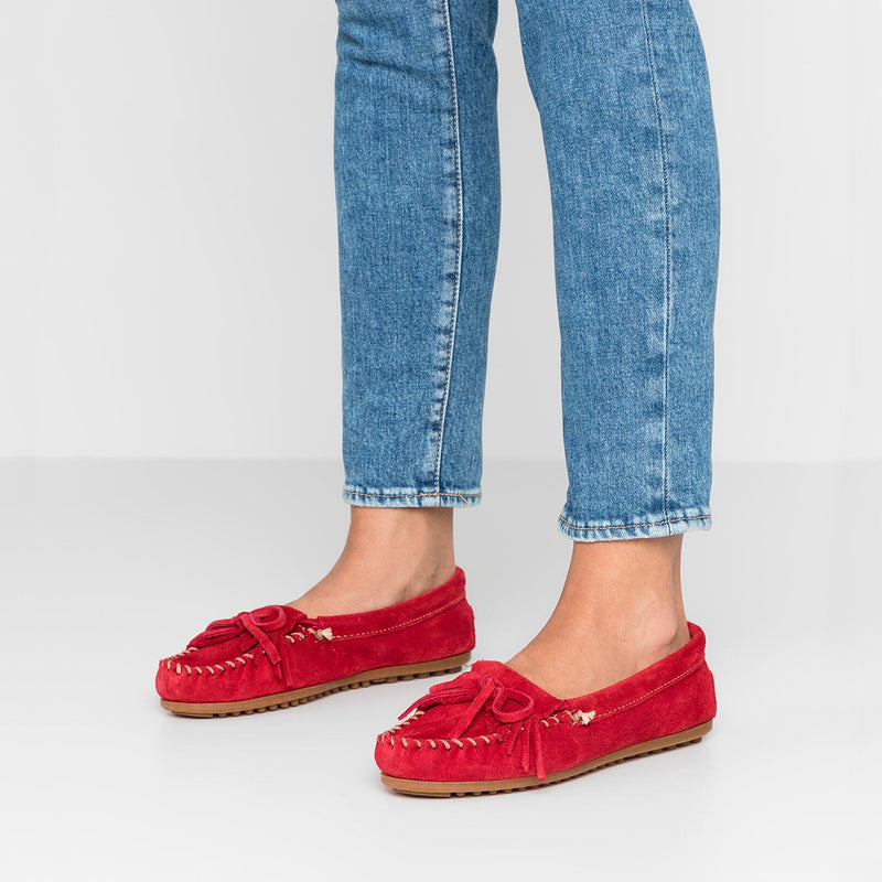 Minnetonka Moccasin | Kilty Red