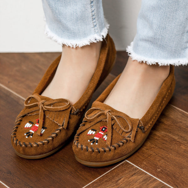 Minnetonka Moccasin | Thunderbird II Brown