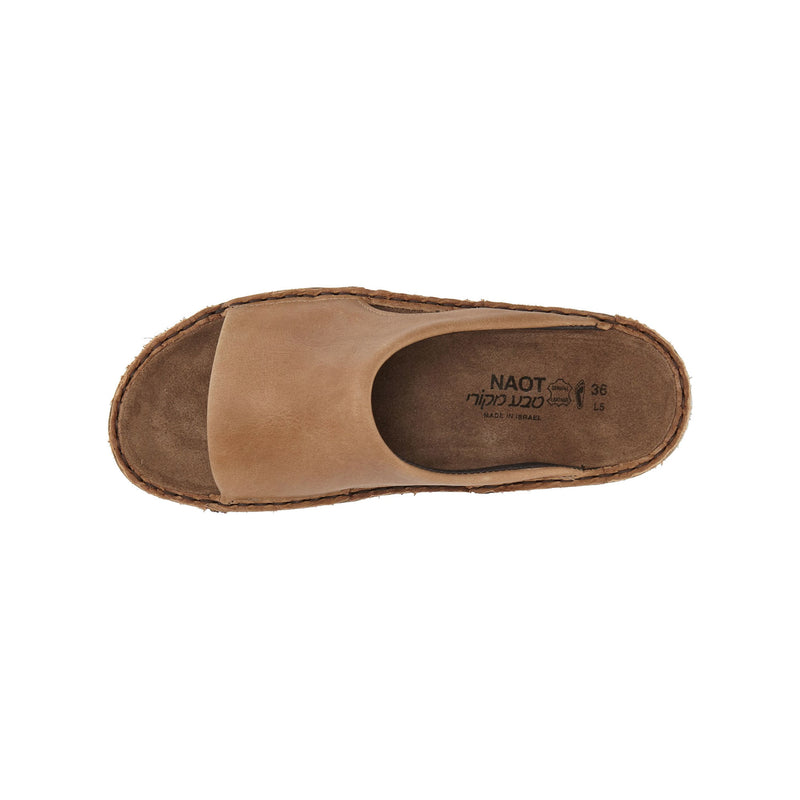 Naot | Ardisia Latte Brown Leather