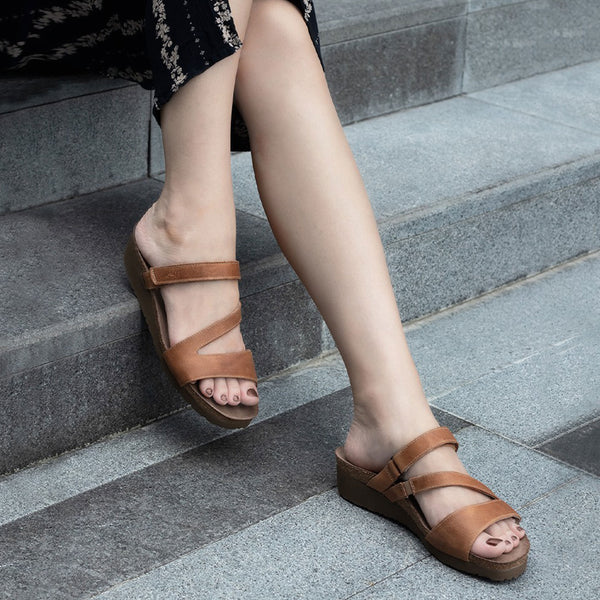 Naot | Gabriela Latte Brown Leather