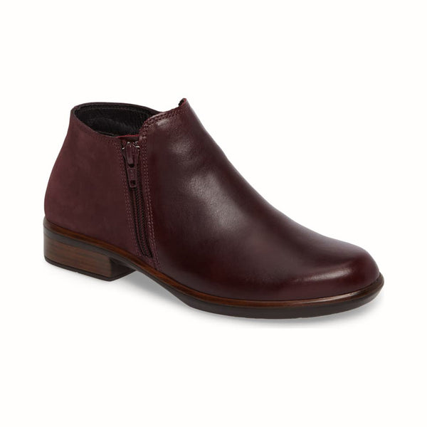 Naot | Helm Bordeaux Leather/Violet Nubuck
