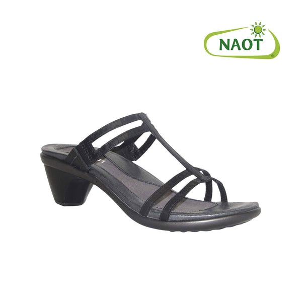 Naot | Loop Black Raven Leather