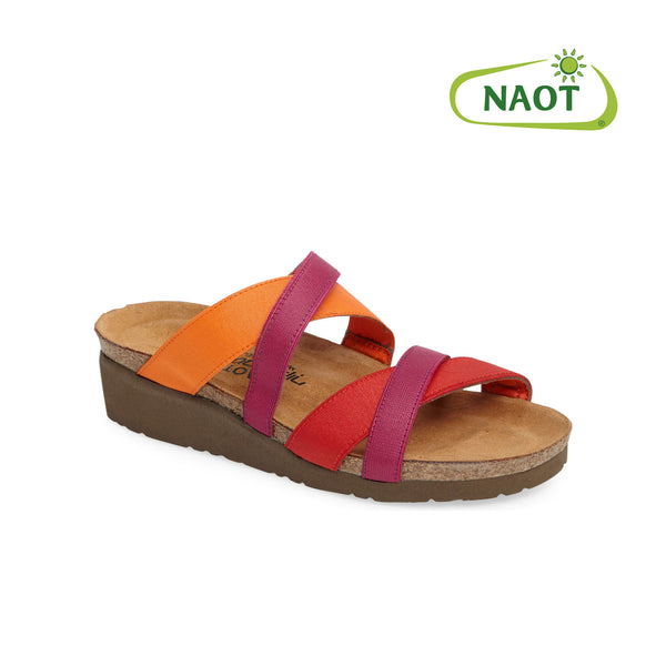 Naot | Roxanna Red/Orange/Magenta Stretch