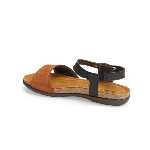 Naot | Sabrina Jet Black/Hawaiian Brown Nubuck