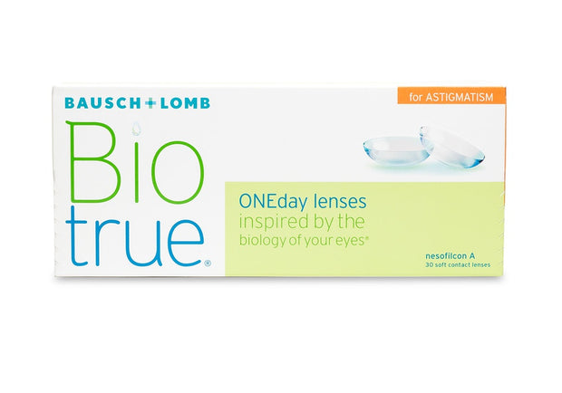 Biotrue ONEday for Astigmatism - 30 Pack