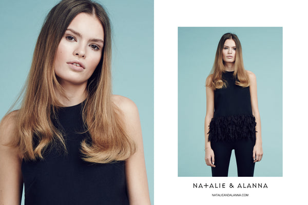 Natalie & Alanna in Factice Magazine