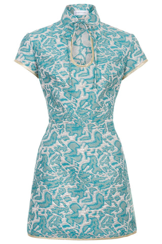Pre-Order Ana Mae Jacquard Mini Dress: Natalie & Alanna - Women's Clothing & Accesssories