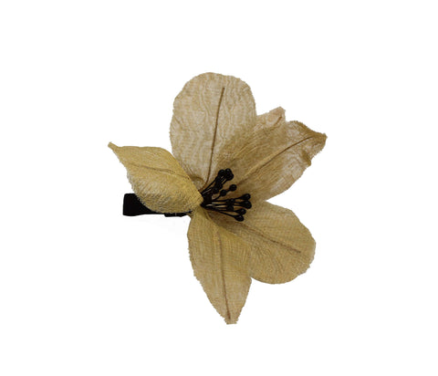 Pre-Order Irma Orchid Hair Slide - Women's Accessories : Natalie & Alanna - Women's Clothing & Accesssories