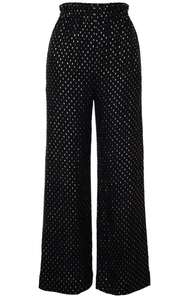 Pre-Order Melody Cotton Gauze Wide Leg Trousers - Women's Trousers : Natalie & Alanna - Women's Clothing & Accesssories
