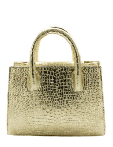 Pre-Order Ruby Dee Croc Effect Leather Tote - Women's Bags : Natalie & Alanna - Women's Clothing & Accesssories