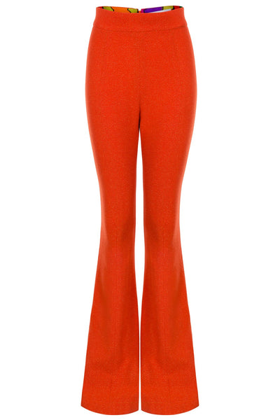 Pre-Order Suzy Wool Blend Flared Trousers - Women's Trousers : Natalie & Alanna - Women's Clothing & Accesssories