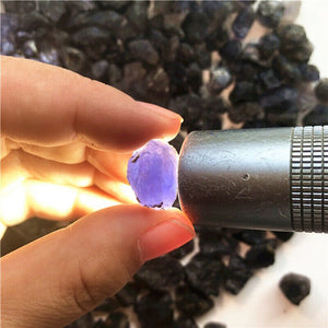 100g Natural Raw Rough Iolite Crystal Water Sapphire