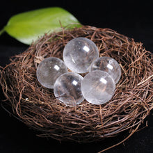 Load image into Gallery viewer, Natural Clear Quartz Crystal Sphere Balls