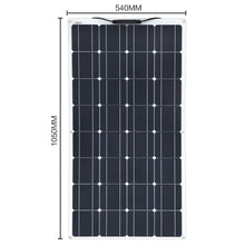Load image into Gallery viewer, 200W 100W Mono Flexible Solar Panel